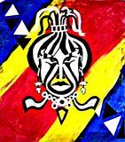Original Multi-Color African Royal