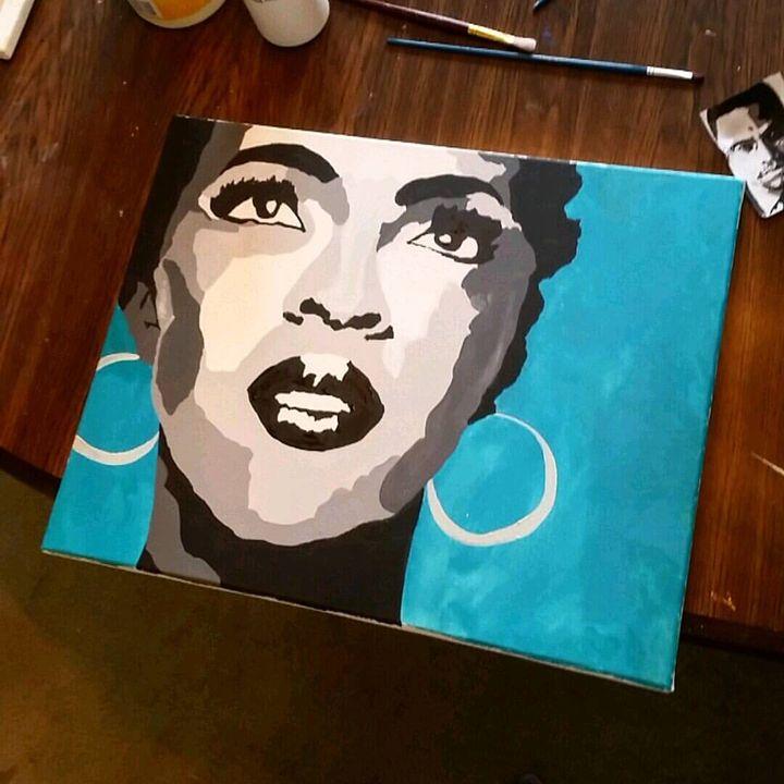 Lauryn Hill - Jillian Miller Paintings