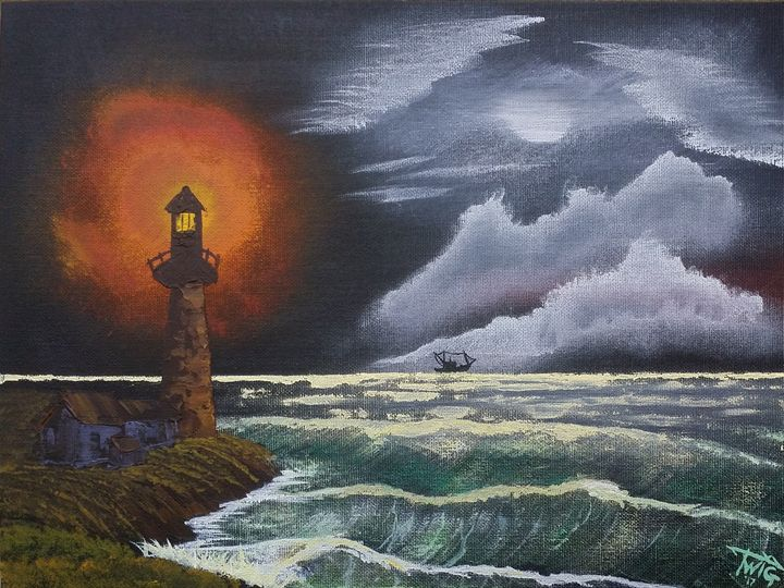 """End of a Work Day at Sea - Chris """"TWiG"""" Jelen"""
