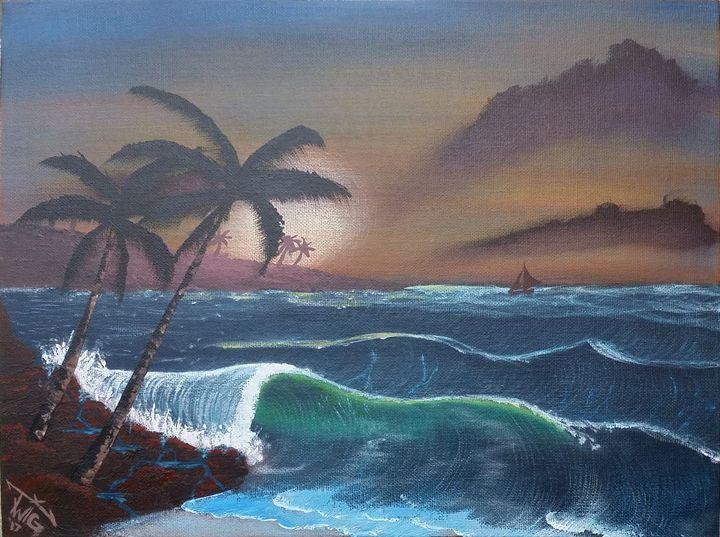 """an evening sail - Chris """"TWiG"""" Jelen"""