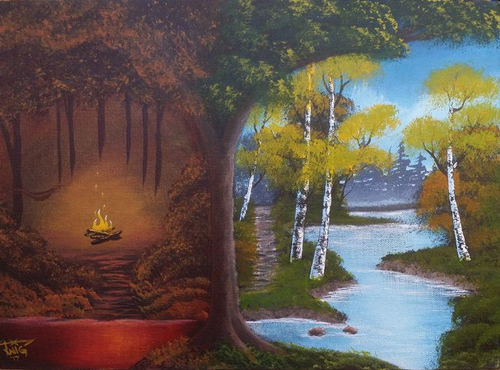 """Day & Night in the Backwoods - Chris """"TWiG"""" Jelen"""
