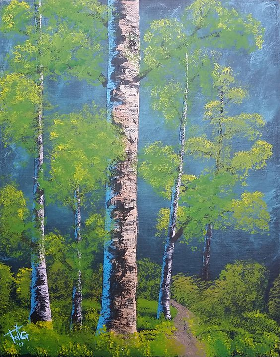"Birch Trees - Chris ""TWiG"" Jelen"