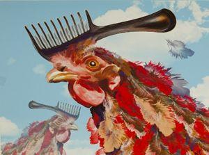 Chicken Comb-Over