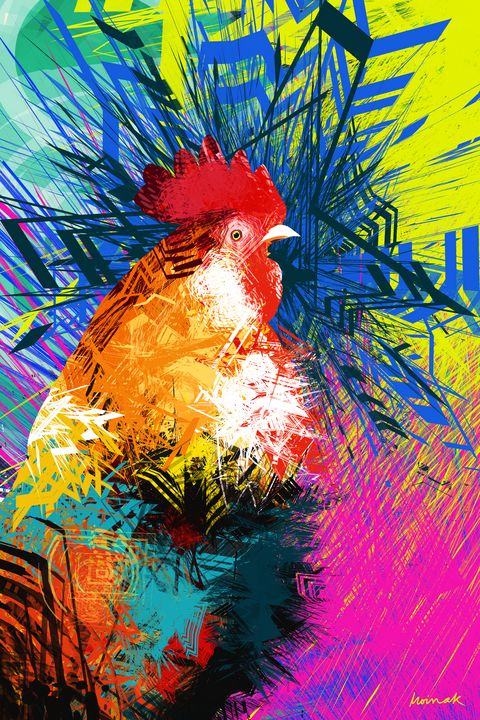 Rooster 1 - Moinak's Creations