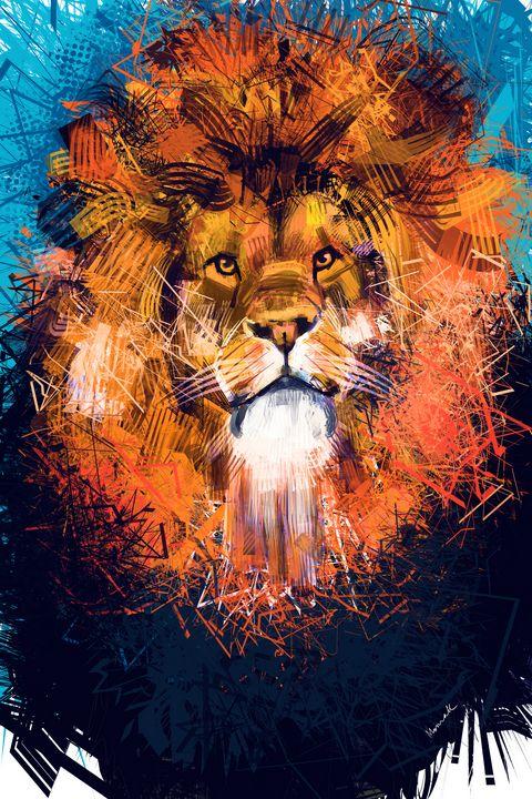 Lion 2 - Moinak's Creations