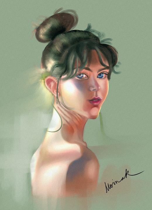 Girl 19 - Moinak's Creations