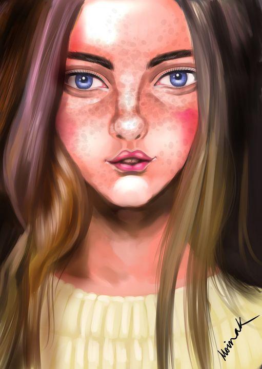 Girl 14 - Moinak's Creations