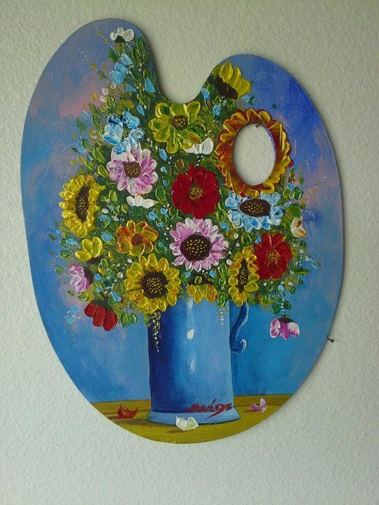 Flower Pallette - Narvaez Gallery
