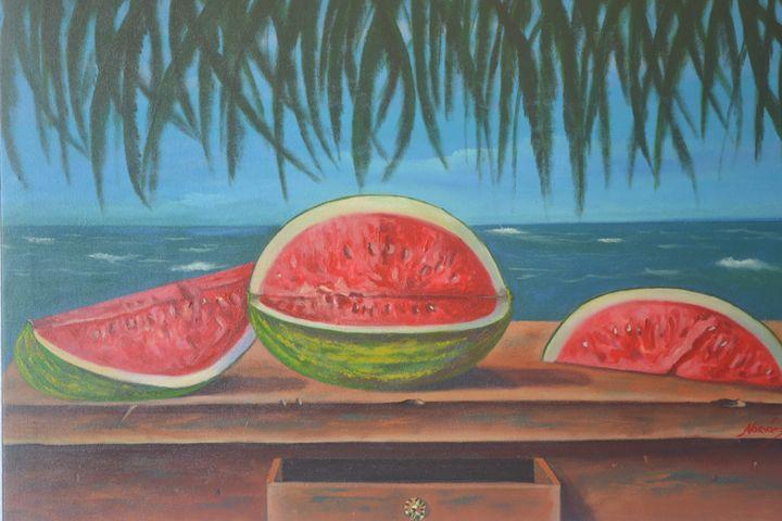 Watermelon - Narvaez Gallery