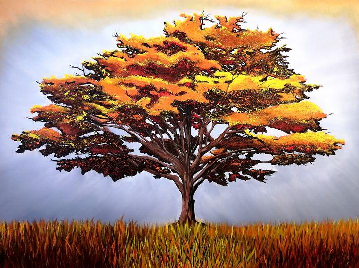 Autumn Leaves - LenrocArt