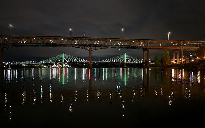 Tillicum Bridge Portland, Oregon - Errol Cox Photography
