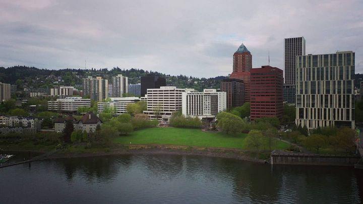 Downtown Portland, Oregon - Errol Cox Photography