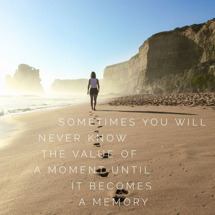 The Value of a Moment - CanvasQuotes