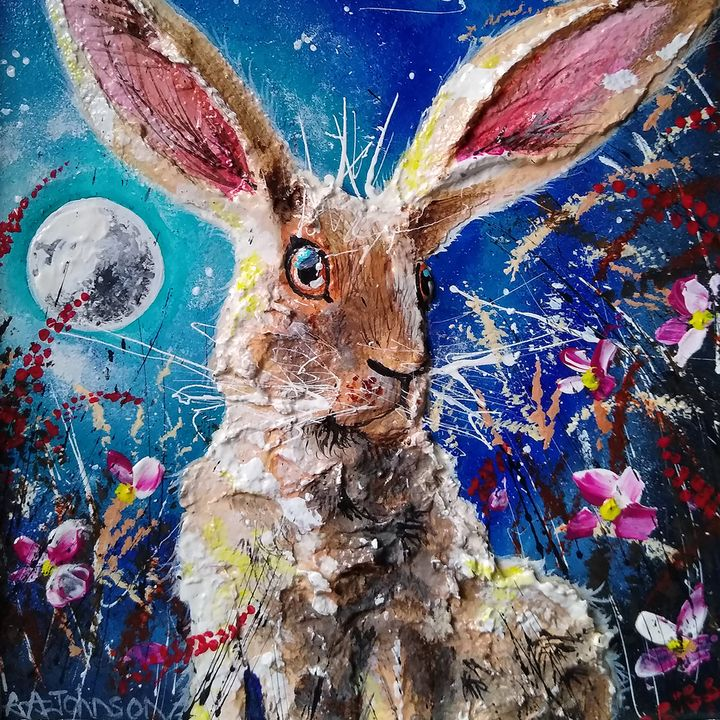 Midnight Hare - Andrew Alan Art