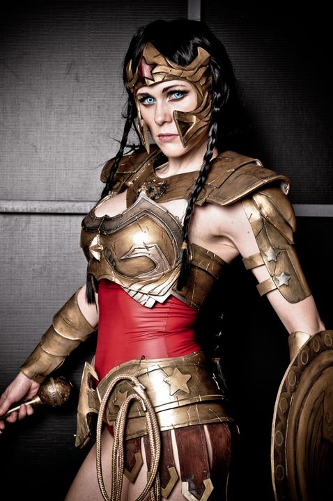 Wonder Woman Regime - Lady Lemon Cosplay