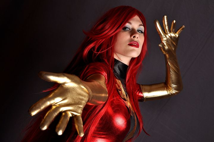Dark Phoenix - Lady Lemon Cosplay