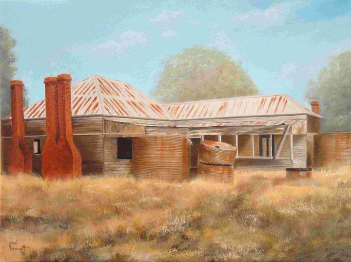 The Old Homestead - Paul Bennett - Artist