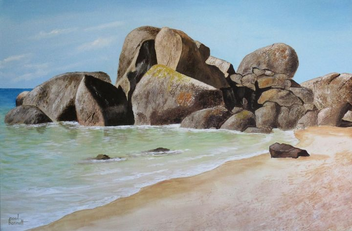 Boulders - Paul Bennett - Artist