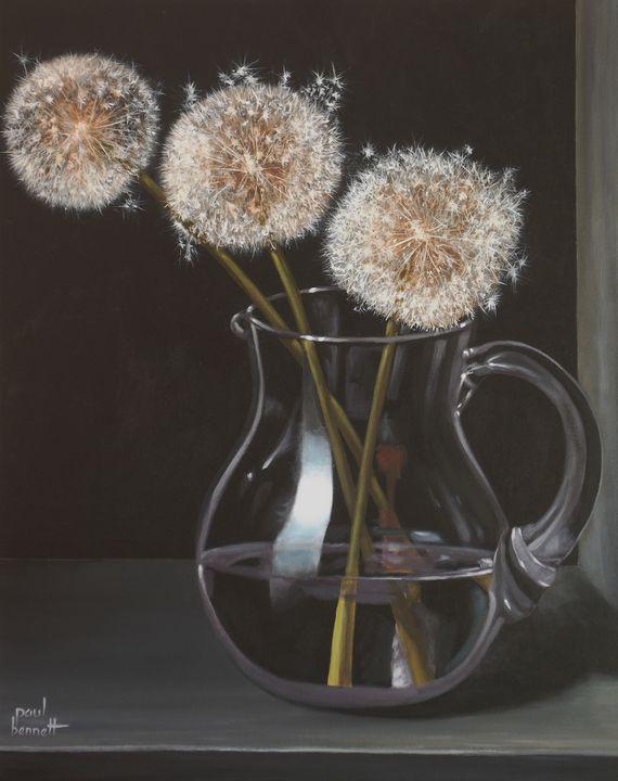 Dandelions - Paul Bennett - Artist