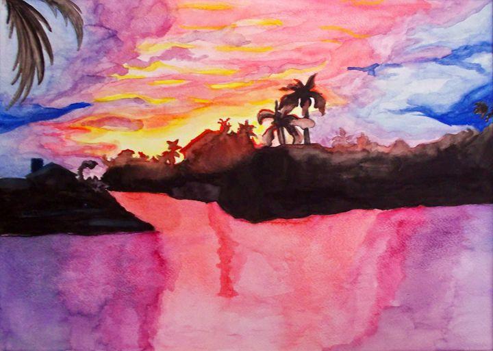 Sunset - Sakana Arts