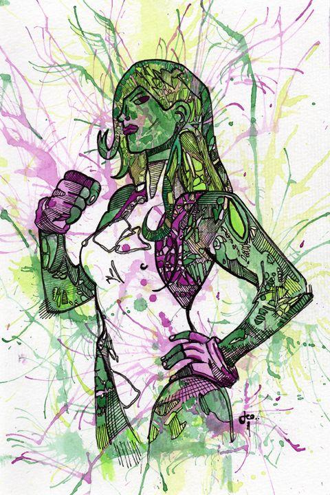 She-Hulk - Dylon Zicchino