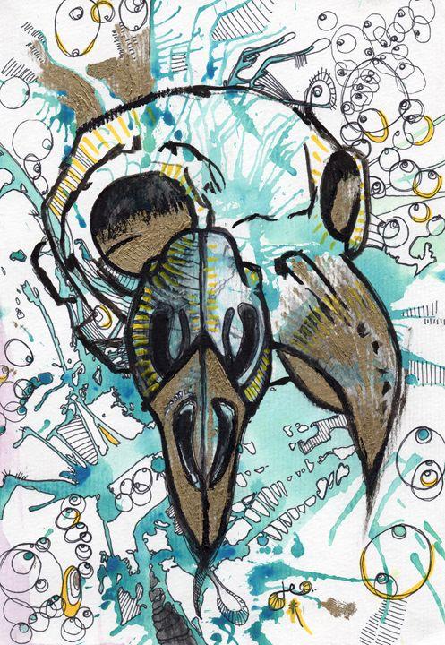 Bird Skulls - Dylon Zicchino