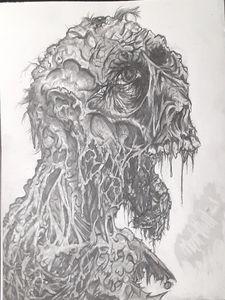 Broken jaw zombie