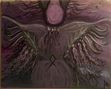 Spirit Lady Painting