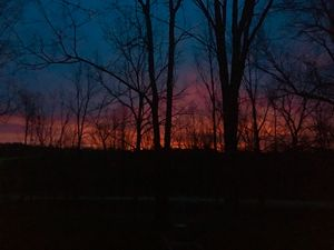 Sunrise in Michigan
