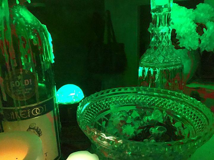 Green with Spirit - Jeanné Wynne Herring