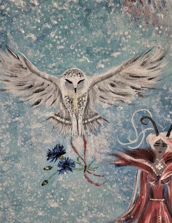 FAITH IN MYSELF ~ THE OWL - Renata Maroti
