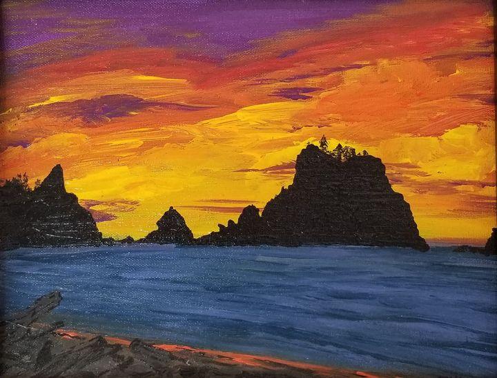 First beach South - Underground Art - a MKurka Art Studio