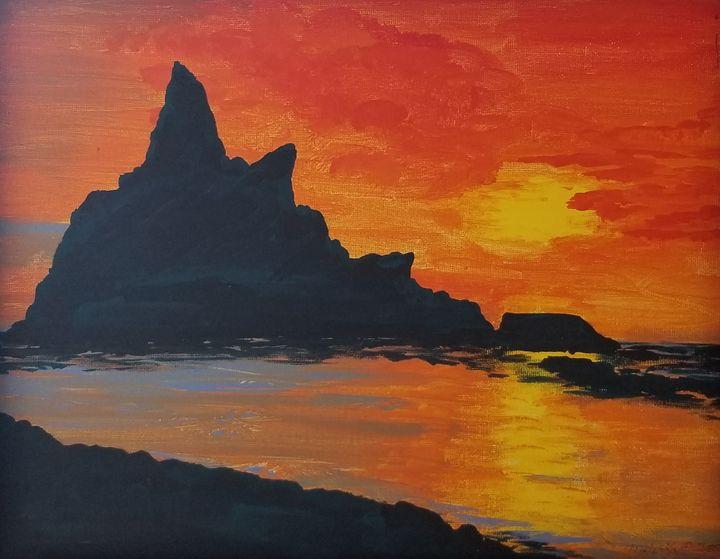 Riallto Beach - Underground Art - a MKurka Art Studio