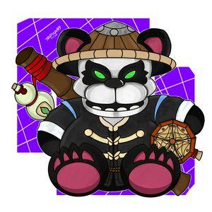 Pandaren Bear Plush Toy