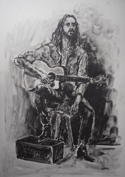 The Troubadour - Colin Peel