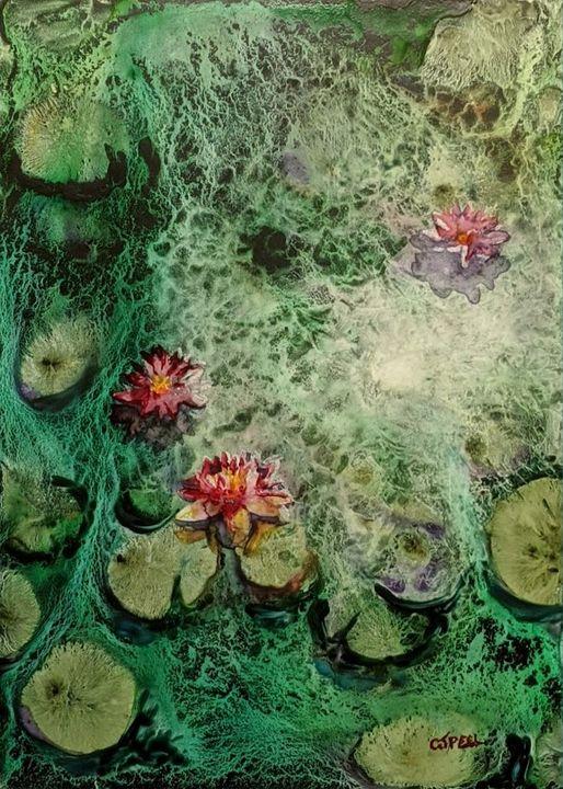 Water Lillies III - Colin Peel