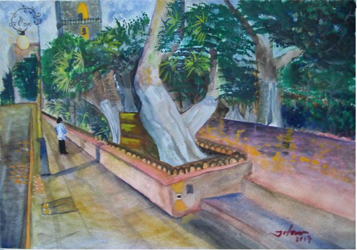 Street 61st, Merida MX - Jose Hau Artwork