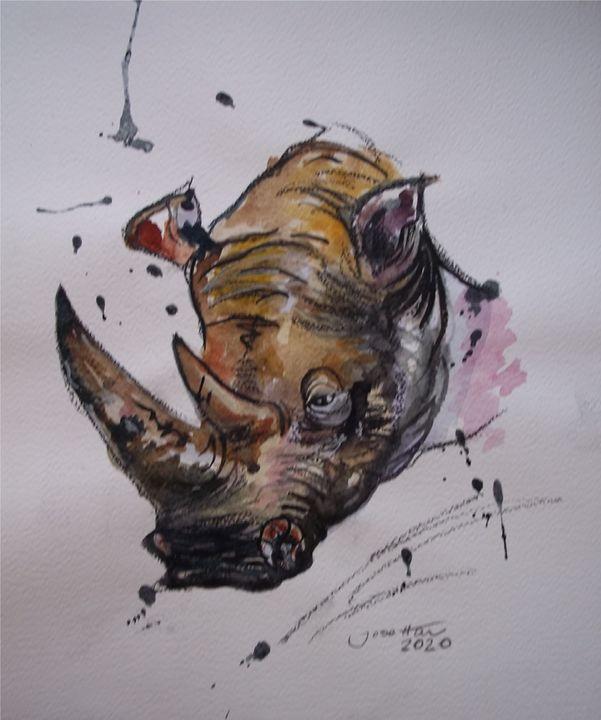 Rino - Jose Hau Artwork