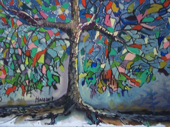 Tree of Sorrow - Jose Hau Artwork