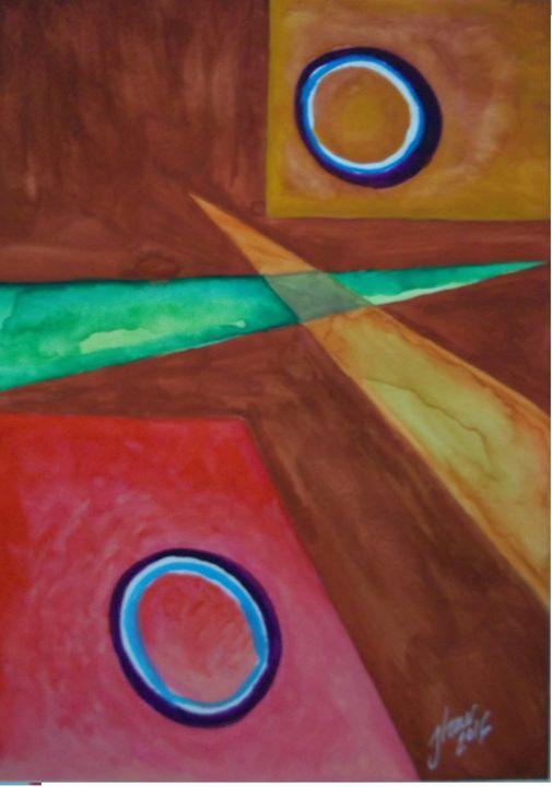 Abstraction # 1 - Jose Hau Artwork