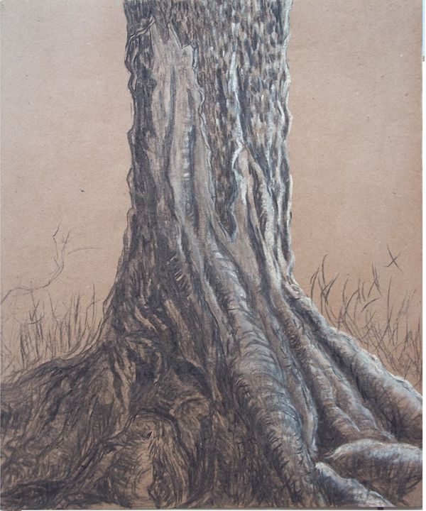 Study of a Trunk - Jose Hau Artwork