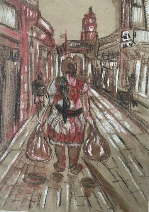 Shopping - Jose Hau Artwork