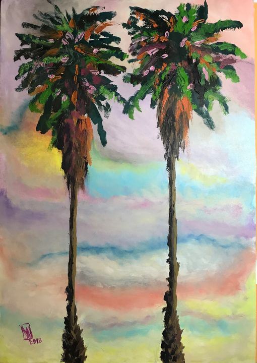 Palm Trees - Jose Hau Artwork
