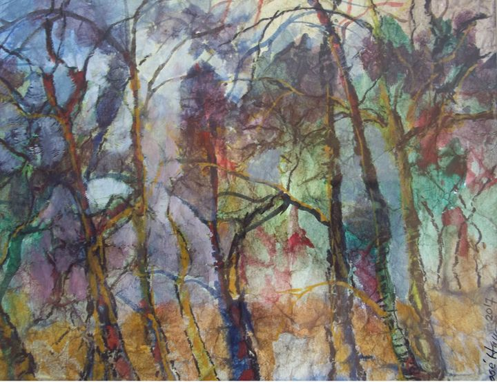 Deep Forest - Jose Hau Artwork