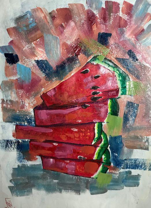 Watermelon - Jose Hau Artwork