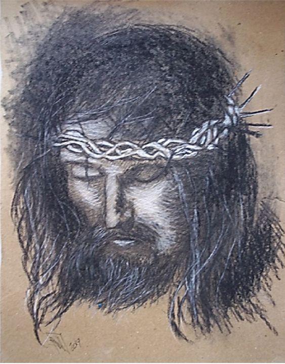 Jesus Christ Face - Jose Hau Artwork