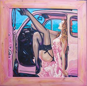Pink auto