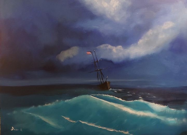 Battling the Storm - Don Davis