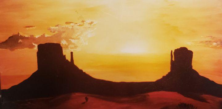 Desert Sunset - Don Davis