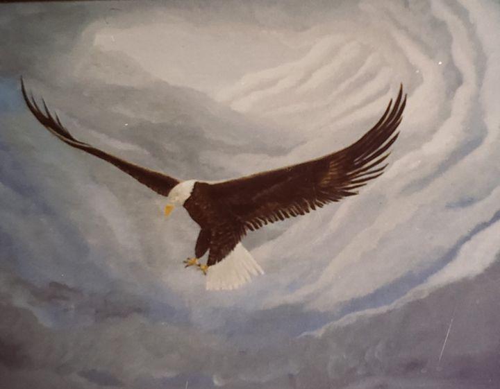 Eagle Landing - Don Davis